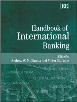 Handbook Of International Banking Andrew W. Mullineux