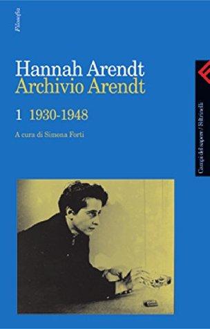 Archivio Arendt, 1930-1948 Hannah Arendt