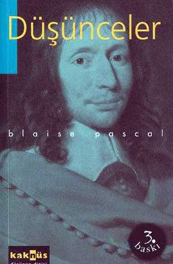 Düşünceler  by  Blaise Pascal