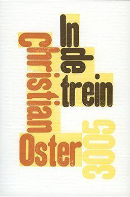 In de trein Christian Oster