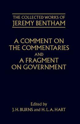 A Comment on the Commentaries and a Fragment on Government Philip Schofield