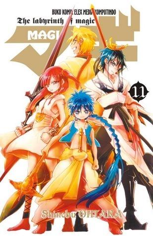 MAGI vol. 11 ( MAGI, #11 ) Shinobu Ohtaka