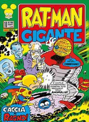 Rat-Man Gigante n. 10: Caccia al ragno!  by  Leo Ortolani