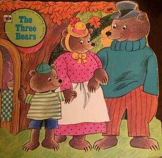 The Three Bears (A Golden Shape Book)  by  Golden Books