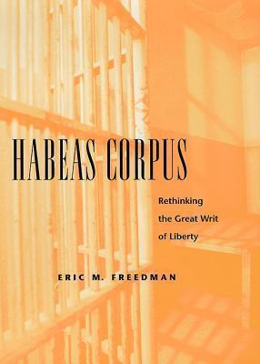Habeas Corpus: Rethinking the Great Writ of Liberty  by  Eric Freedman