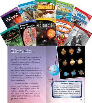 Time for Kids Informational Text Grade 2 Spanish Set 3 10-Book Set (Time for Kids Nonfiction Readers)  by  Teacher Created Materials