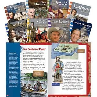 Texas History Biographies Teacher Created Materials