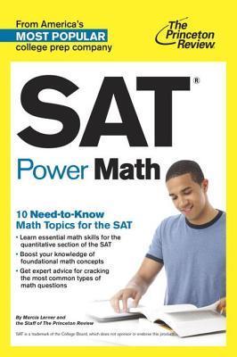 SAT Power Math  by  Princeton Review