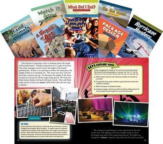 Math Readers for Middle School Set 2  by  Teacher Created Materials