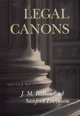 Legal Canons J.M. Balkin