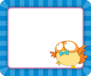 Owl Pals Name Tags  by  Carson-Dellosa Publishing