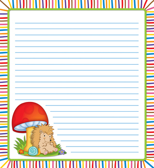Happy Hedgehogs Notepad  by  Carson-Dellosa Publishing