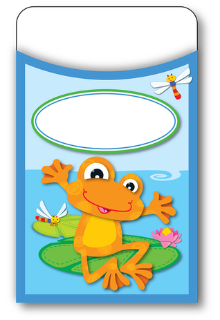 FUNky Frogs Library Pockets  by  Carson-Dellosa Publishing