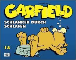 Garfield: Schlanker durch Schlafen (Garfield #18)  by  Jim Davis