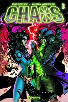 Chaos #3  by  Tim Seeley