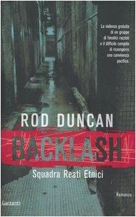 Backlash. Squadra reati etnici Rod Duncan