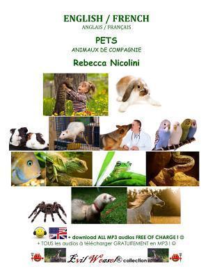 English / French: Pets: Color Version  by  Rebecca Nicolini