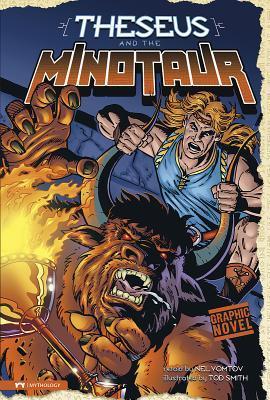 Graphic Revolve Mythology: Theseus and the Minotaur Nel (RTL) Yomtov