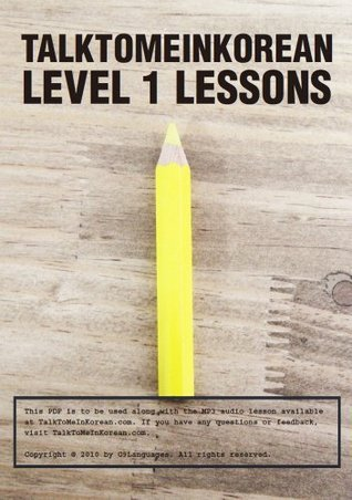 TalkToMeInKorean Level 1 lessons: Talk To Me In Korean eBook TTMIK