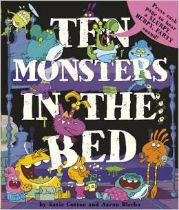 Ten Monsters in the Bed Katie Cotton