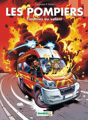 Flammes au volant (Les Pompiers, #11)  by  Christophe Cazenove
