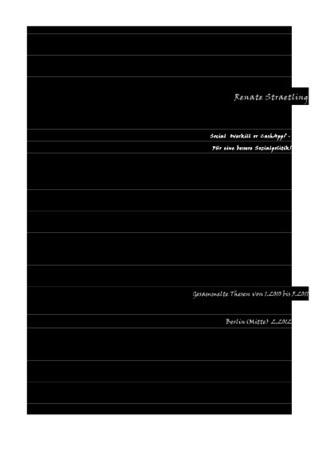 Social Overkill or CashApp? - Für eine bessere Sozialpolitik!: Gesammelte Thesen 1.2010 bis 5.2011  by  Renate Straetling