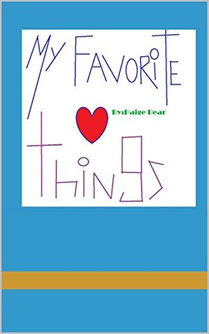 My Favorite Things Paige Bear