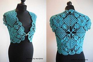 crochet mint bolero shrug pattern pdf marifu6a: crochet mint bolero shrug pattern pdf by marifu6a by marifu6a