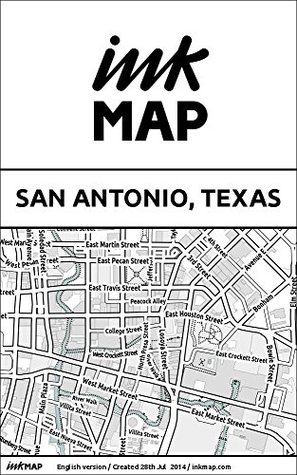 San Antonio, Texas Inkmap - maps for eReaders, sightseeing, museums, going out, hotels  by  Verlag Inkmap