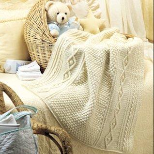 Babys Aran Afghan Crochet ePattern  by  Leisure Arts, Inc.