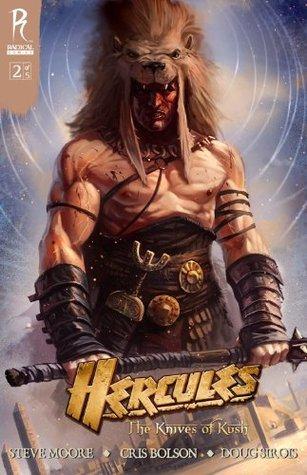 Hercules: The Knives of Kush #2 Steve Moore