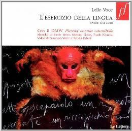 Lesercizio della lingua (Poesie 1991-2008)  by  Lello Voce