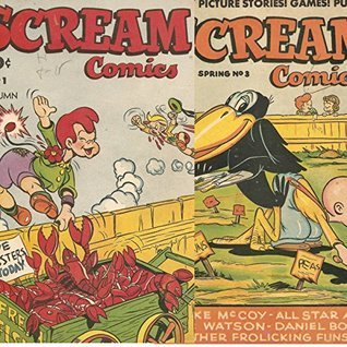 Scream. Issues 1 and 3. Funny picture stories! Games! Puzzles. Golden Age Digital Comics Golden age Comedy Comics