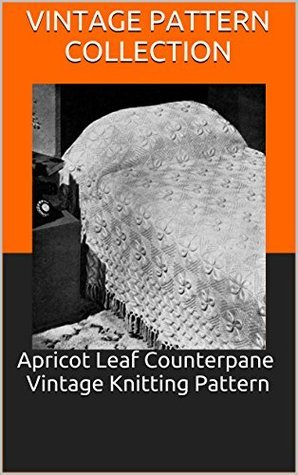 Apricot Leaf Counterpane Vintage Knitting Pattern  by  Vintage Pattern Collection