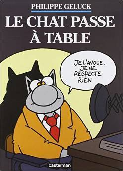 Le Chat, Tome 19 : Le Chat passe à table  by  Philippe Geluck