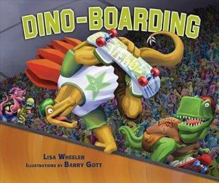 Dino-Boarding (Carolrhoda Picture Books)  by  Lisa Wheeler