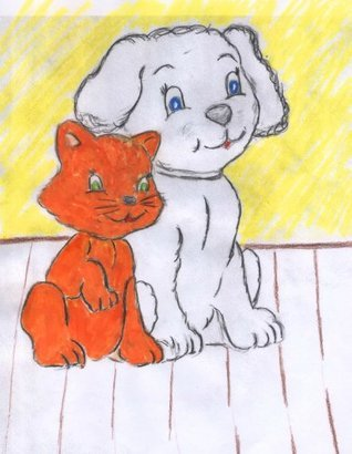 LITTLE DOG AND TAILESS CAT The Storm  by  The Grandma