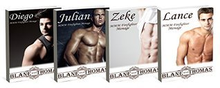 MMM Gay Firefighter Menage Bundle  by  Blane Thomas