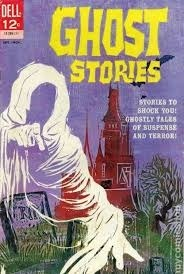 Ghost Stories #1 Dell Comic Book John Stanley