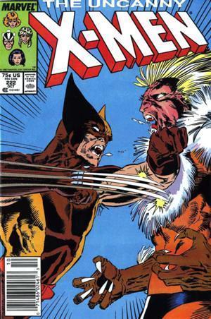 Uncanny X-Men #222  by  Chris Claremont