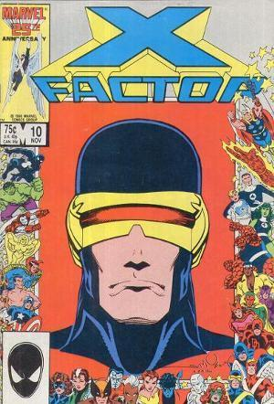 X-Factor #10  by  Louise Simonson