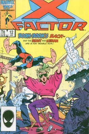 X-Factor #12  by  Louise Simonson