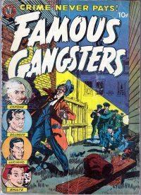 Famous Gangsters Comic Book Sol Cohen