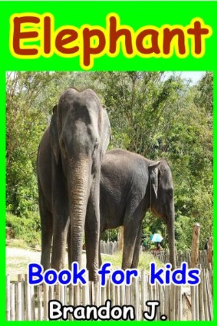 Elephant book for kids : Amazing Pictures & Fun Facts on Animals  by  Brandon J. Ferrer