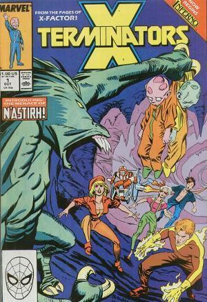 X-Terminators #1 Louise Simonson
