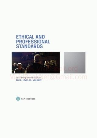 CFA Program Curriculum, Level 3, 2015, #1 CFA Institute