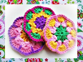 African Coasters Crochet Pattern Wonderful Hands