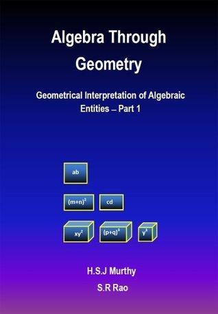 Algebra Through Geometry: Geometrical Interpretation of Algebraic Entities - Part 1  by  H.S. Jayashankara Murthy