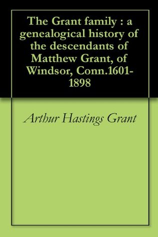 The American city Arthur Hastings Grant