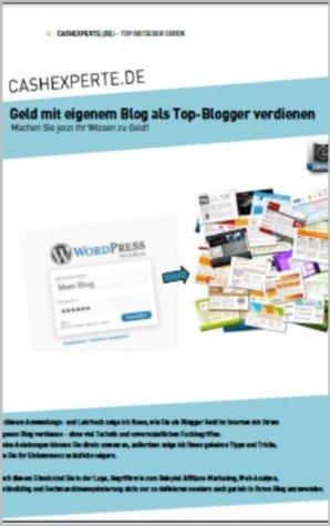 Geld mit eigenem Blog als Top-Blogger verdienen Juergen Grill